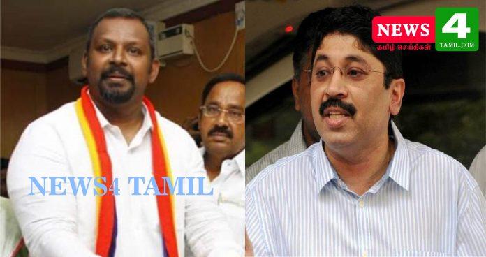 PMK Candidate SamPaul Filed Case against DMK Dayanidhi Maran-News4 Tamil Online Tamil News