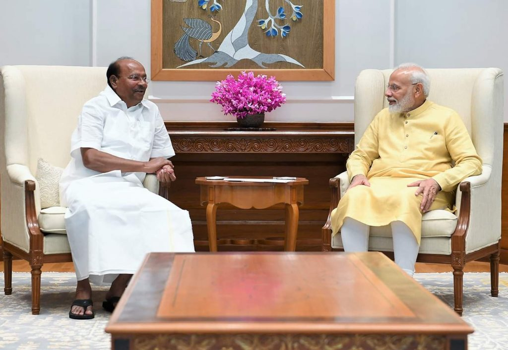 Dr Ramadoss meet with Prime Minister Modi-News4 Tamil Latest Online Tamil News Today